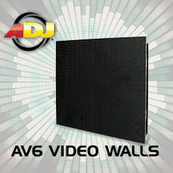 American DJ AV6 LED Walls