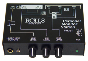 Rolls Pm Personal Monitor Mixer