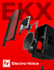 EVI EKX Speakers
