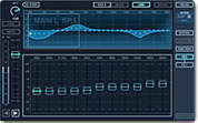Image of the 31 band EQ editor on screen