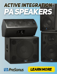 PreSonus Active Integration Speakers