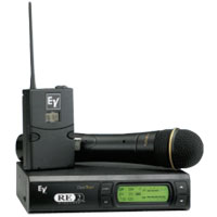 Electro-Voice RE2 Series UHF Wireless Microphone Systems