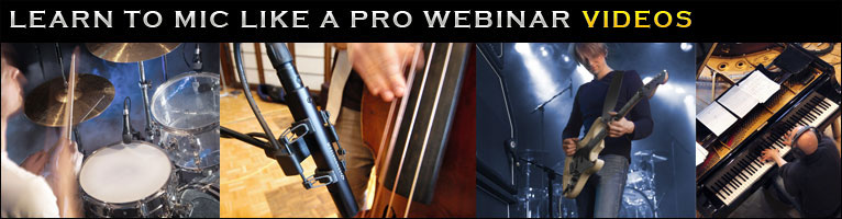 How to mic instruments like a pro videos. Learn how to improve the sound at your church!