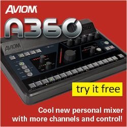 The New Aviom A360 - Cool new personal mixer with more channels and control!