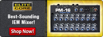 Elite Core's PM-16 is the Best-Sounding IEM Mixer!