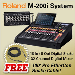 Roland M-200i Package Deal!