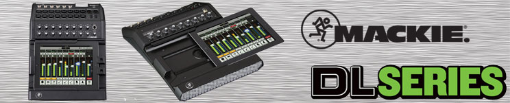 Mackie DL Series Digital Live Mixers
