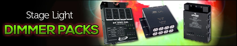 Stage Light Dimmer Packs