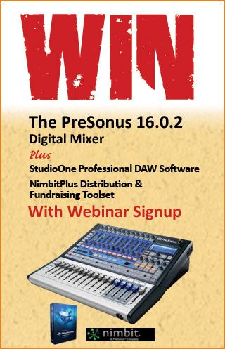 Win a Free PreSonus 16.0.2 Digital Mixer