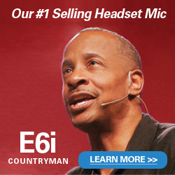 Countryman E6i Headset Microphone - Get the Best Price on the Planet from CCI Solutions