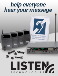 Listen Technologies - Assisted Listening Systems
