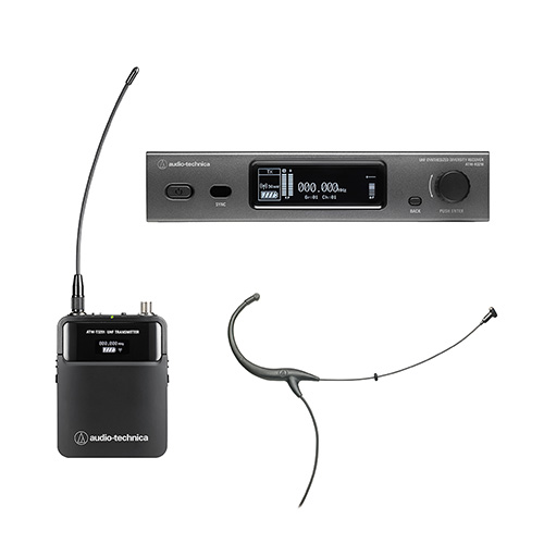 Audio-Technica 3211/894-THDE2 Wireless Microphone System