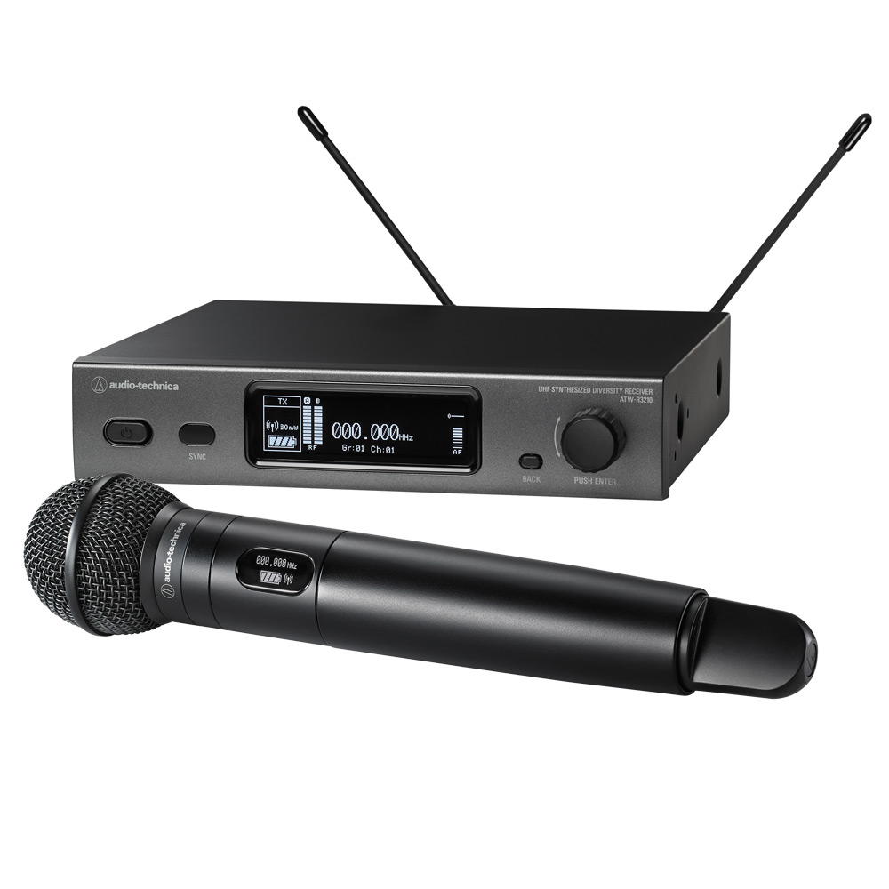 audio technica 3212 c510ee1 handheld wireless microphone system with atw c510 cardioid dynamic. Black Bedroom Furniture Sets. Home Design Ideas