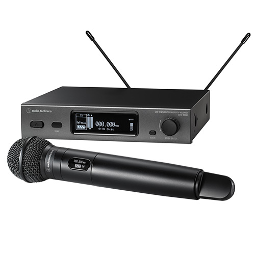 Audio-Technica 3212/C510EE1 Handheld Wireless Microphone System