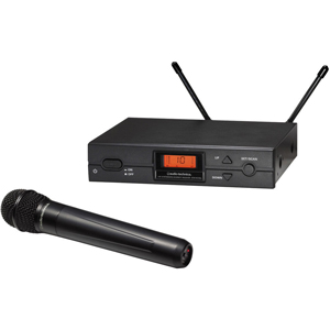 Audio-Technica ATW-2120b Wireless Handheld Microphone System