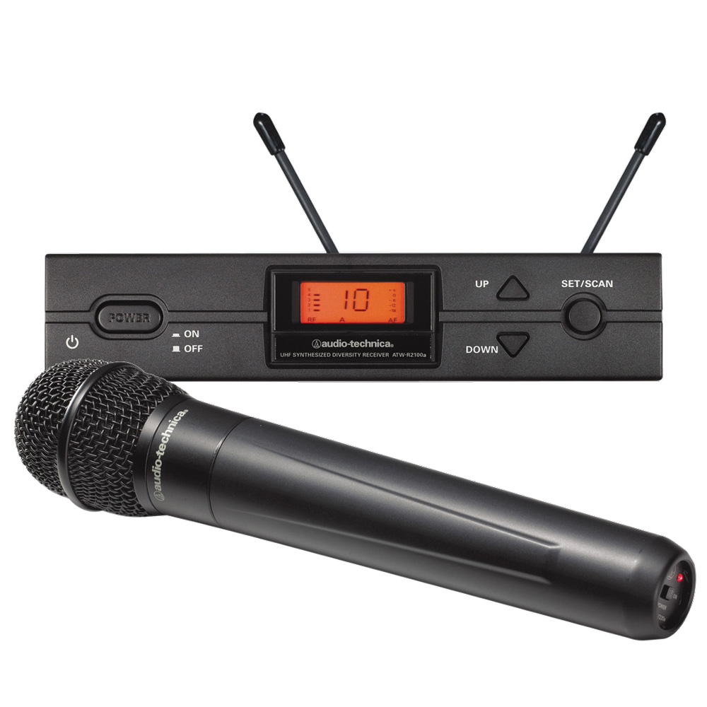 audio technica atw 2120a handheld wireless mic system. Black Bedroom Furniture Sets. Home Design Ideas