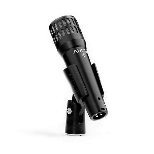 Audix's i5 Dynamic Instrument Microphone