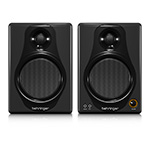 Behringer MEDIA 40USB High-Resolution,150-Watt Bi-Amped Digital Monitor Speakers
