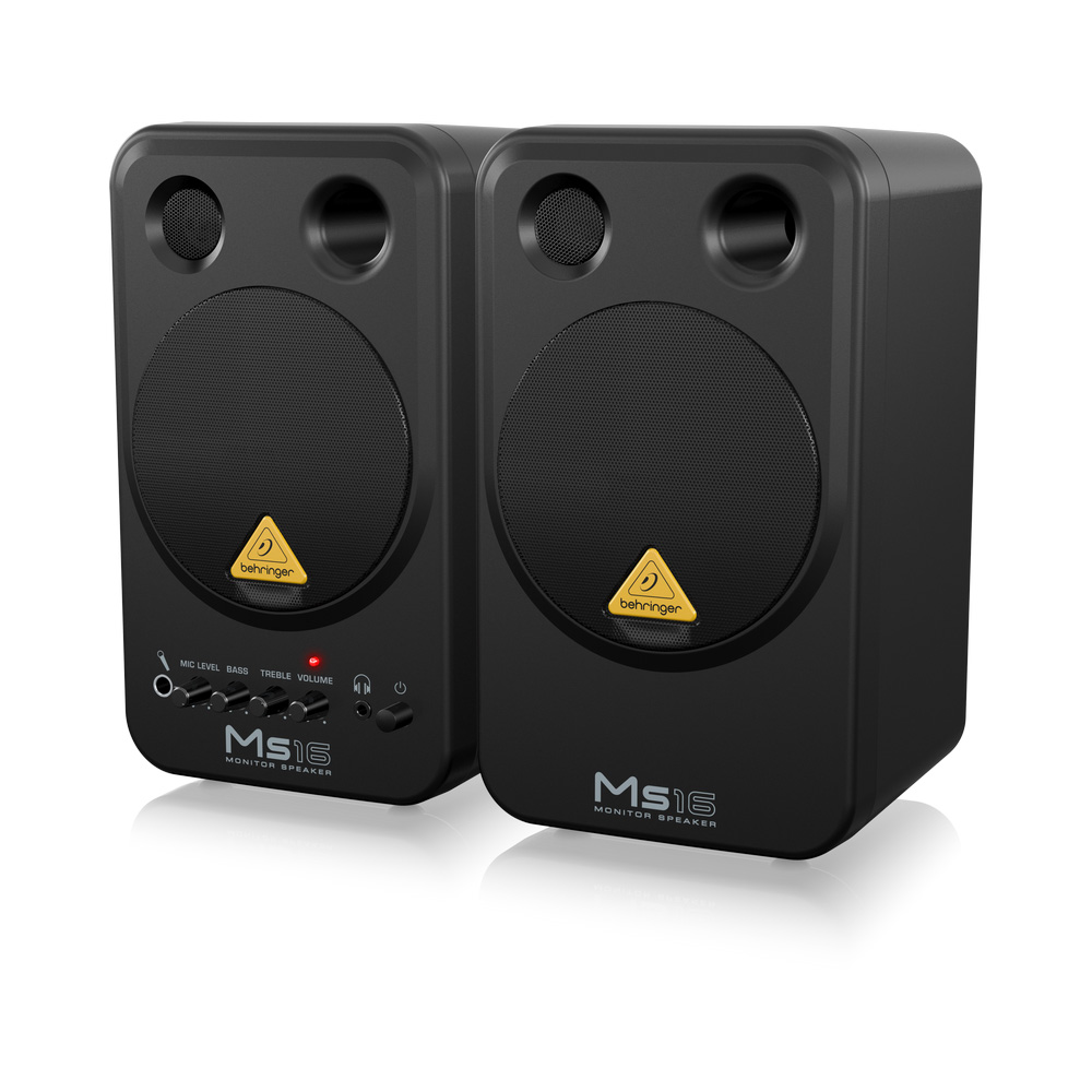 Behringer Ms16 Active 16 Watt Personal Monitor System
