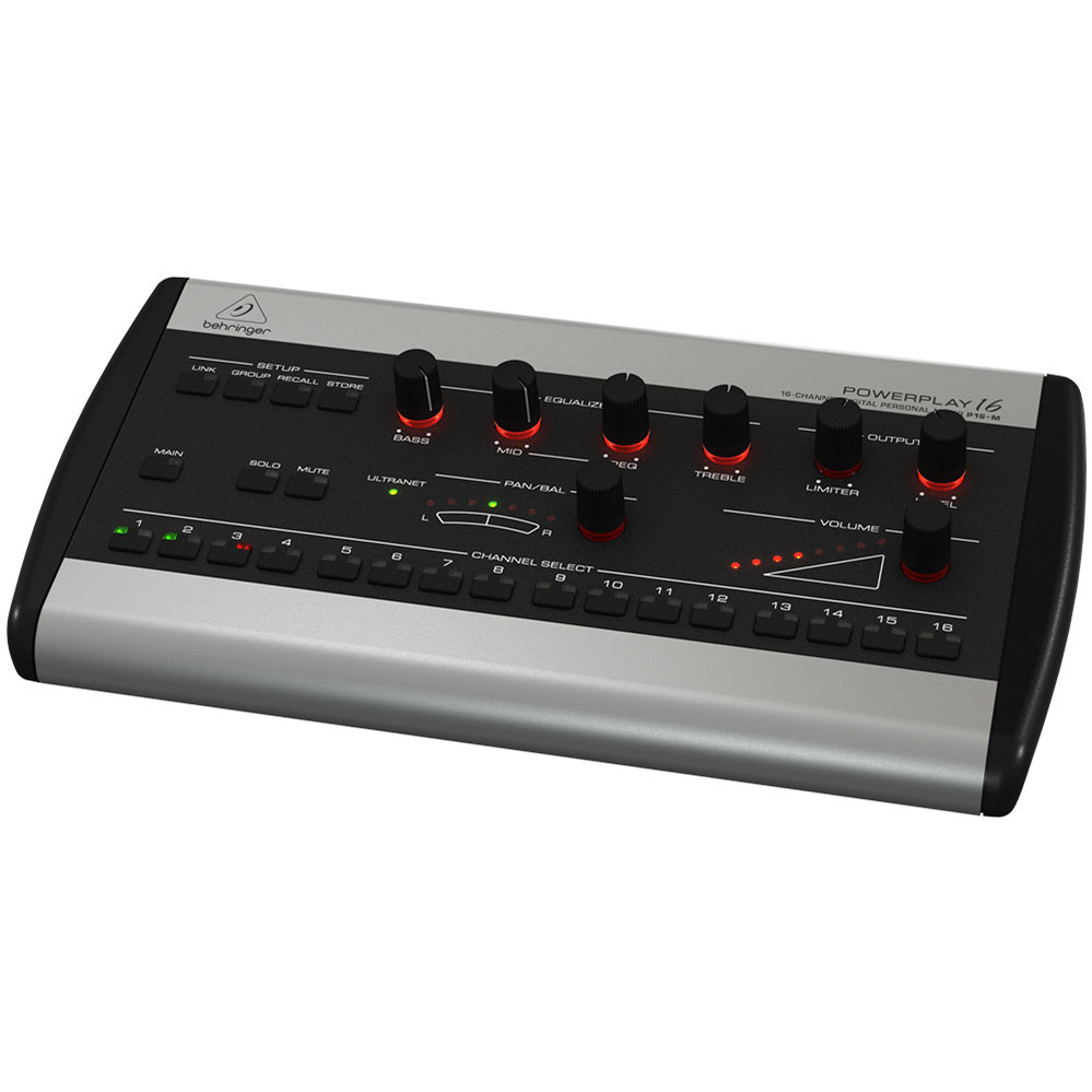 Behringer Powerplay 16 P16 M Personal Mixer For Personal