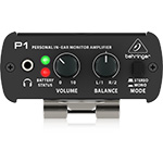 Behringer P1 Personal In-Ear Monitor Amplifier back thumbnail