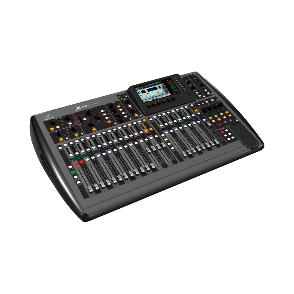 behringer x32 digital mixing console with input topology mic preamps and programmable gain. Black Bedroom Furniture Sets. Home Design Ideas