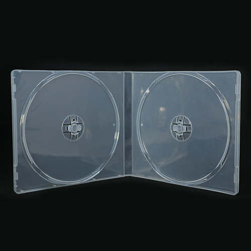 MediaSAFE Clear 2 Disc CD Poly Case