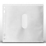 MediaSAFE Disc Album Dual Disc Sleeve Insert - Clear/White