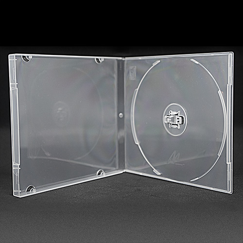 MediaSAFE Clear CD Poly Case
