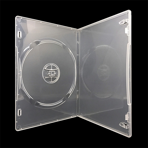 MediaSAFE DVD Cases - Slim, clear Amaray style case