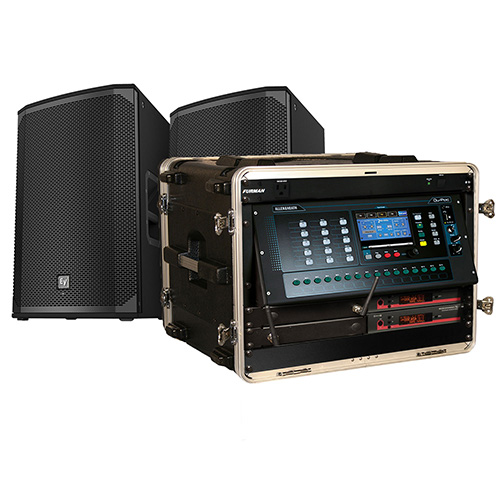 CCI Solutions Portable Sound System Bundle