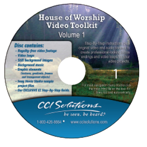 CCI Solutions House of Worship Video Toolkit