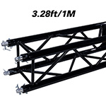 Global Truss SQ-4110-BLK Truss Segment