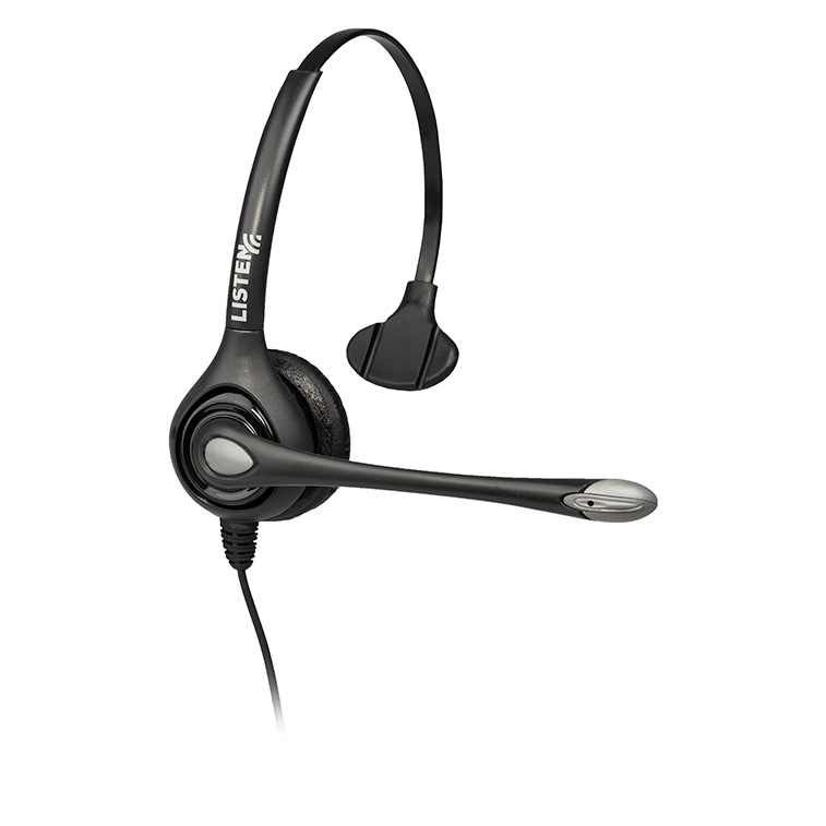 Listen Technologies LA-452 Headset 2 (Over Head w/Boom Mic)