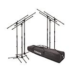 On-Stage Stands MSP7706 Mic Stands + Bag