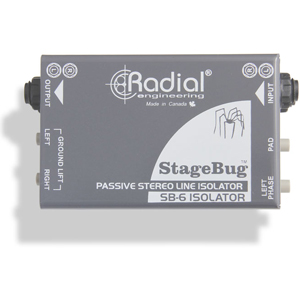 Radial (R800 0160) Audio Isolator