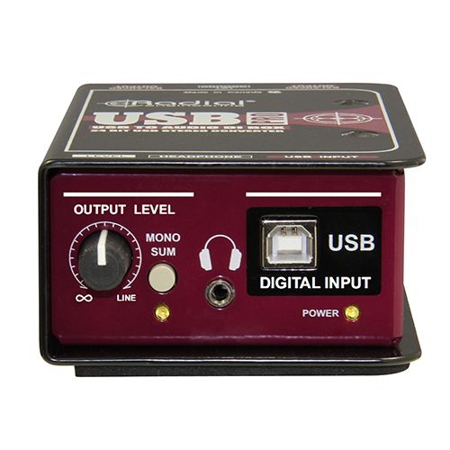 Radial Engineering (USB-PRO) Direct Box