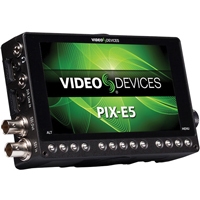 Sound Devices PIX-E5 Professional Recording Field Monitor