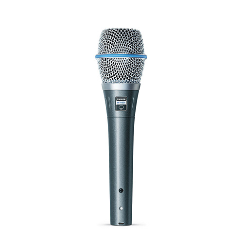 Shure BETA 87A Super Cardioid Condenser Handheld Vocal Microphone