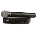 Shure BLX PG58 Handheld Wireless System  thumbnail