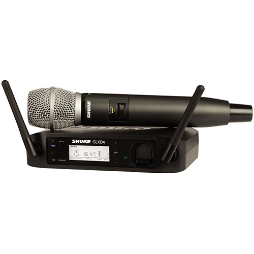 Shure GLXD24/SM86 Digital Wireless Vocal System