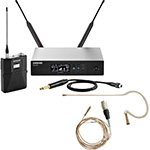Shure QLX-D Bodypack Wireless System with Countryman E6 Earset Microphone