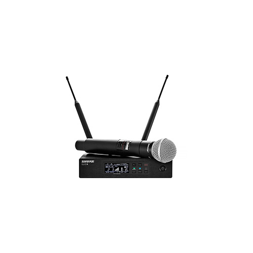 Shure QLXD24/SM58-G50 Handheld Wireless Microphone System