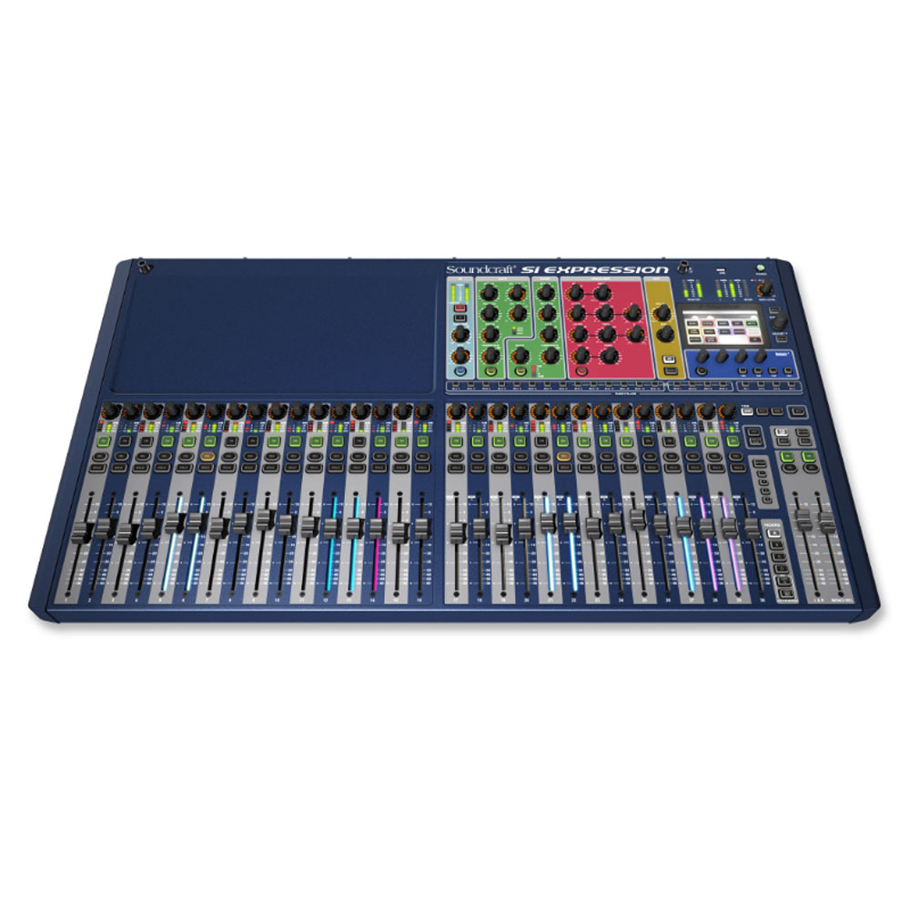 soundcraft 5035679 si expression 3 digital mixer with 32 mic pre 39 s 66 input channels and. Black Bedroom Furniture Sets. Home Design Ideas