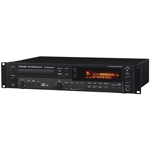 Tascam CD-RW901MKII Professional CD Recorder