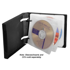 MediaSAFE Black 10-Disc