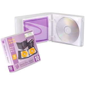 MediaSAFE Clear 10-Disc