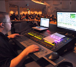 Worship Sound Tech Helping People Get Into Worshiping God