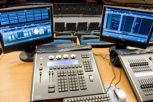 Rogers high school theatrical lighting design cci solutions