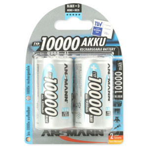 Ansmann 5030642 Rechargeable D Batteries